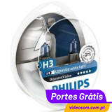 Philips H3 Diamond Vision 5000K ( 2 bulbs )