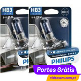 Philips HB3 12v 60w Diamond Vision 5000K ( 2 bulbs )