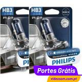 Philips HB3 12v 60w Diamond Vision 5000K  ( 2 lâmpadas )