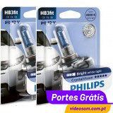 Philips Crystal Vision HB3 9005 12V 60W ( 2 Bulbs )