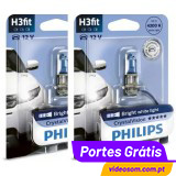 Philips Crystal Vision H3 12V 55W ( 2 Lâmpadas )
