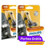 Philips Vision +30% H8 12v 35w PGJ19-1 12360 (2 Lâmpadas )