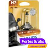 Philips Vision +30% H7 12v 55w PX26d 12972PR (1 Lâmpadas )